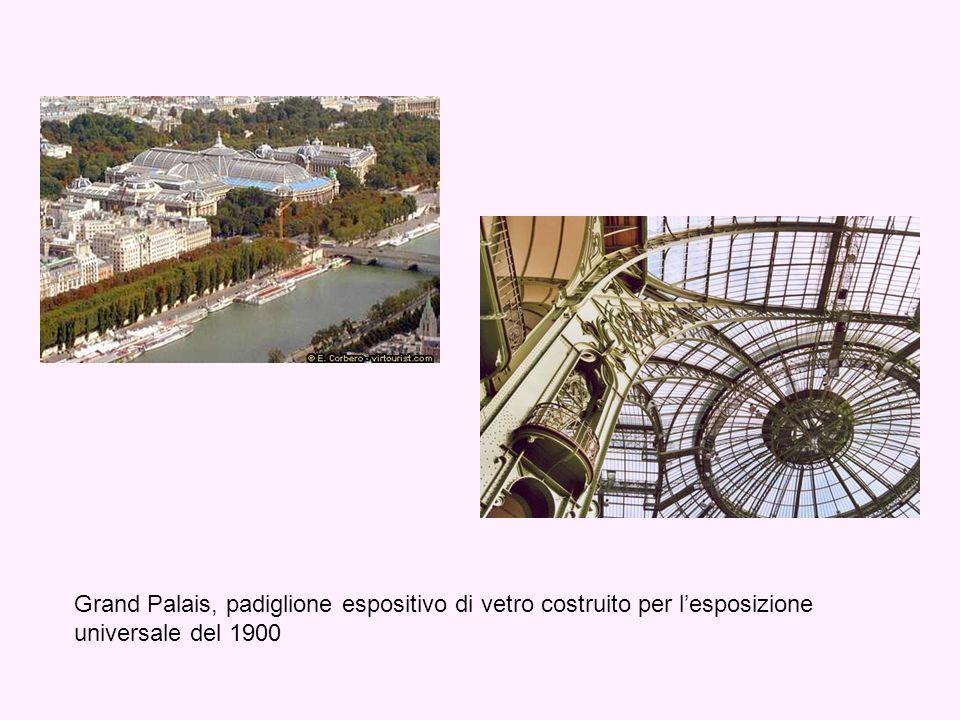 Grand Palais, padiglione espositivo di vetro costruito per lesposizione universale del 1900