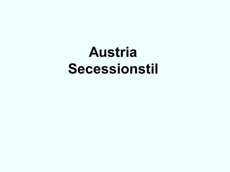 Austria Secessionstil