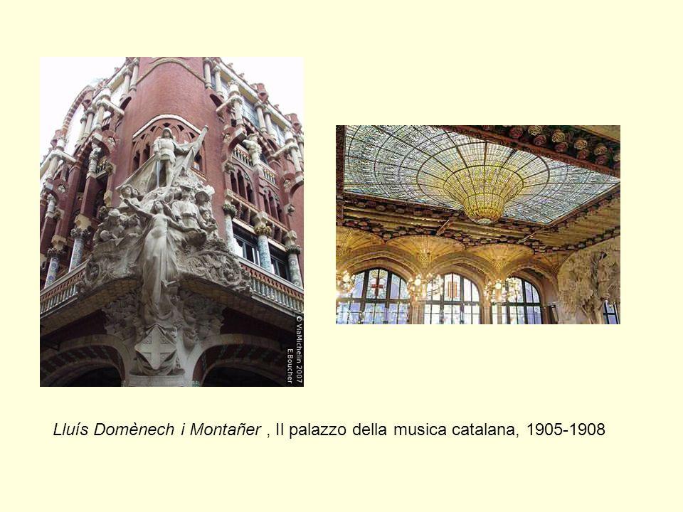 Lluís Domènech i Montañer, Il palazzo della musica catalana, 1905-1908