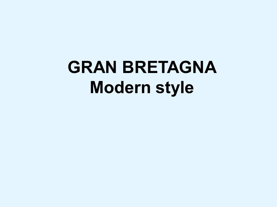 GRAN BRETAGNA Modern style