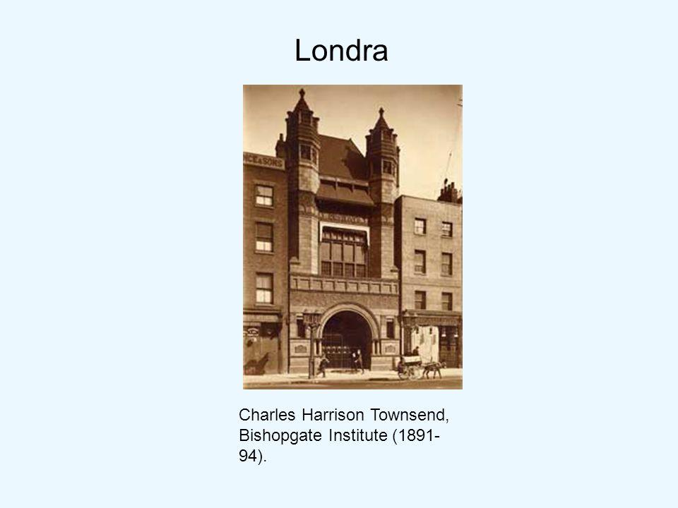 Charles Harrison Townsend, Bishopgate Institute (1891- 94). Londra