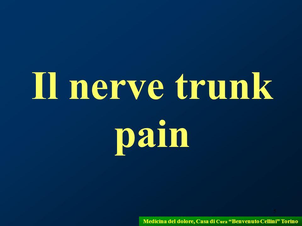 5 Il nerve trunk pain Medicina del dolore, Casa di Cura Benvenuto Cellini Torino