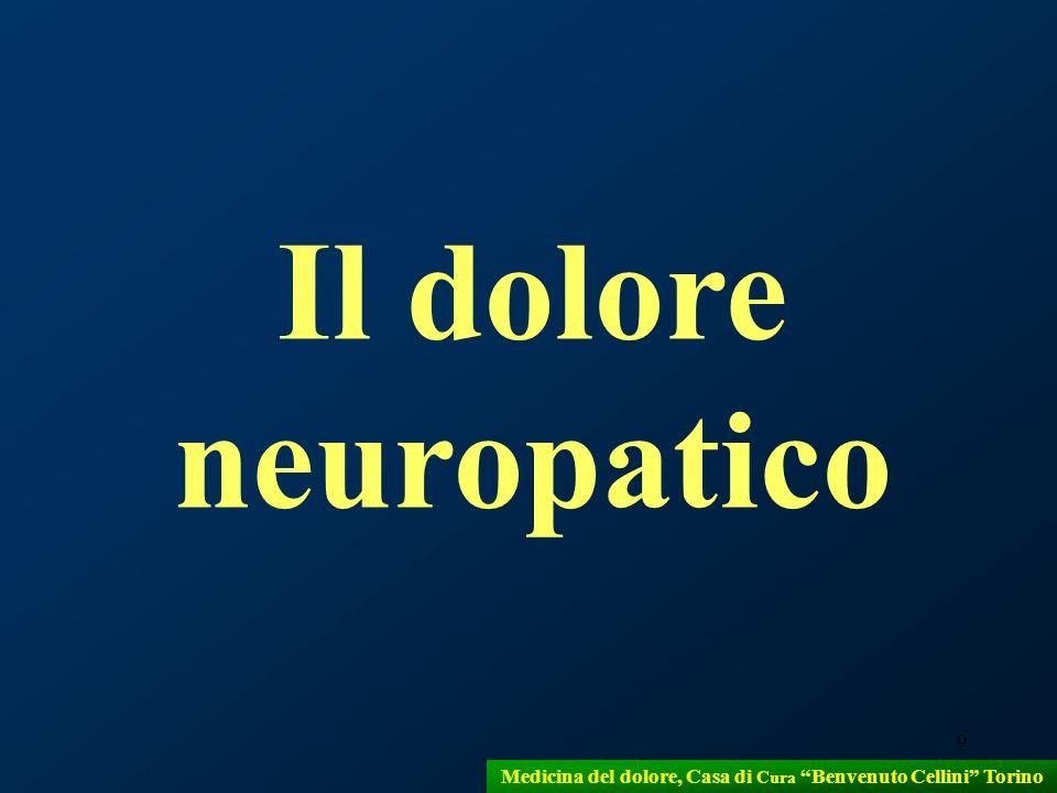 9 Il dolore neuropatico Medicina del dolore, Casa di Cura Benvenuto Cellini Torino