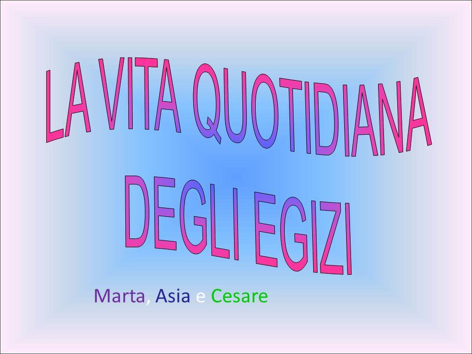 Marta, Asia e Cesare