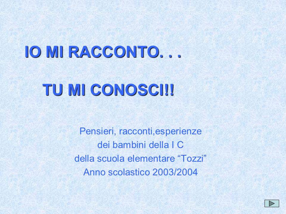 MARCO Io mi chiamo Marco Lusini.