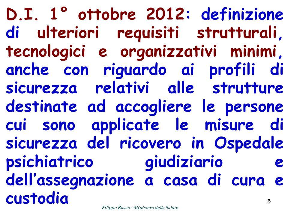 55 D.I. 1° ottobre 2012: definizione di ulteriori requisiti strutturali, tecnologici e organizzativi minimi, anche con riguardo ai profili di sicurezz