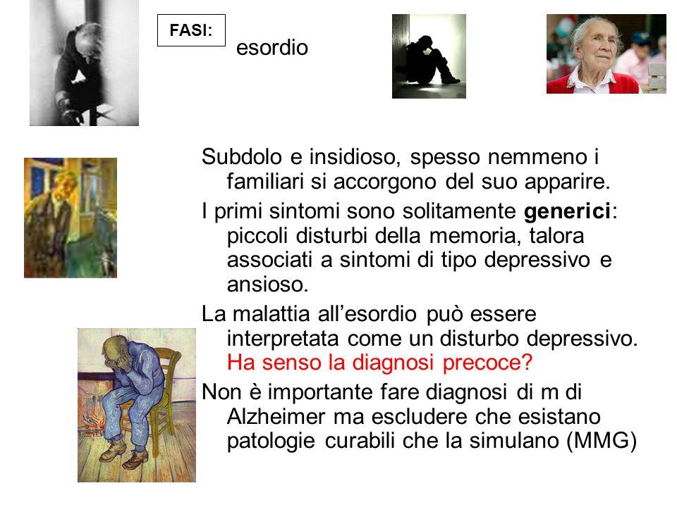 La malattia e il percorso per il medico di famiglia Il sospetto prende corpo, come intervenire.