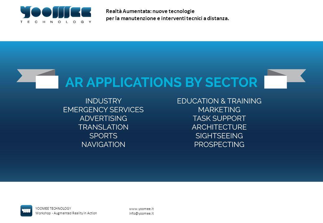 Realtà Aumentata: nuove tecnologie per la manutenzione e interventi tecnici a distanza.