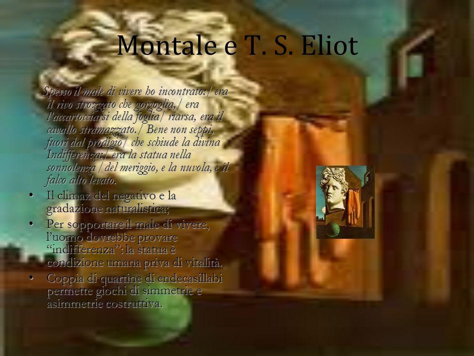 Montale e T.S.