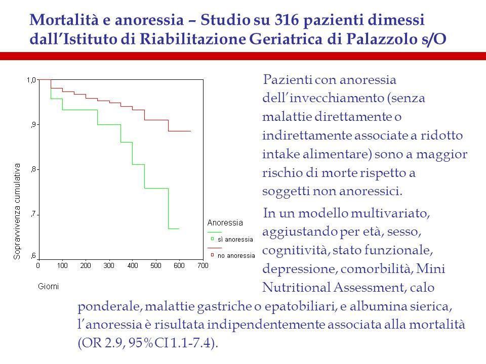 Indicazioni -1 (J Nutr Health Aging, 2000) 1)ONCOLOGICHE - tumori occlusivi di testa-collo e tratto GI superiore - cachessia o intake alimentare inadeguato - durante chemio/radioterapia aggressiva 2)NEUROLOGICHE - disfagia - coma apallico - traumi cranici - tumori cerebrali - stroke severi - paralisi bulbare - coma prolungato