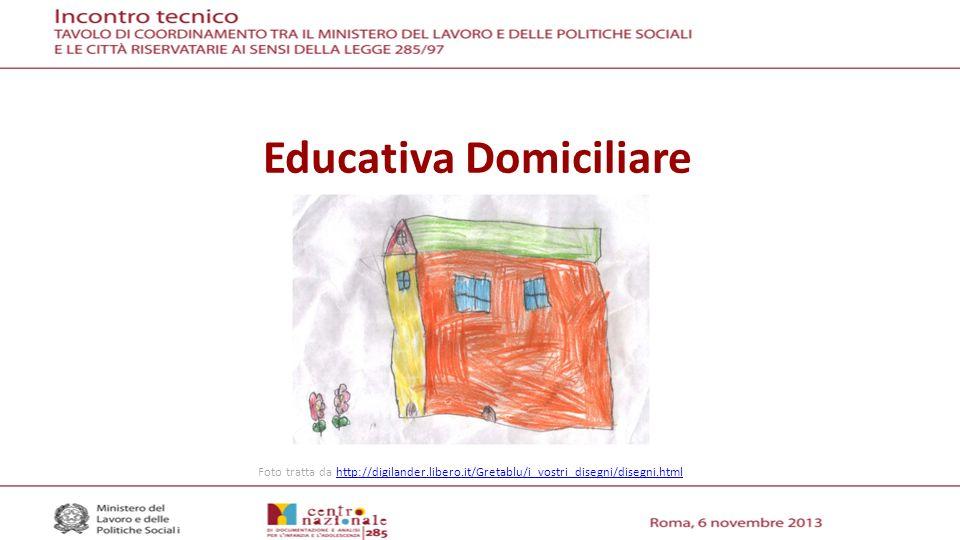 Educativa Domiciliare Foto tratta da http://digilander.libero.it/Gretablu/i_vostri_disegni/disegni.htmlhttp://digilander.libero.it/Gretablu/i_vostri_disegni/disegni.html