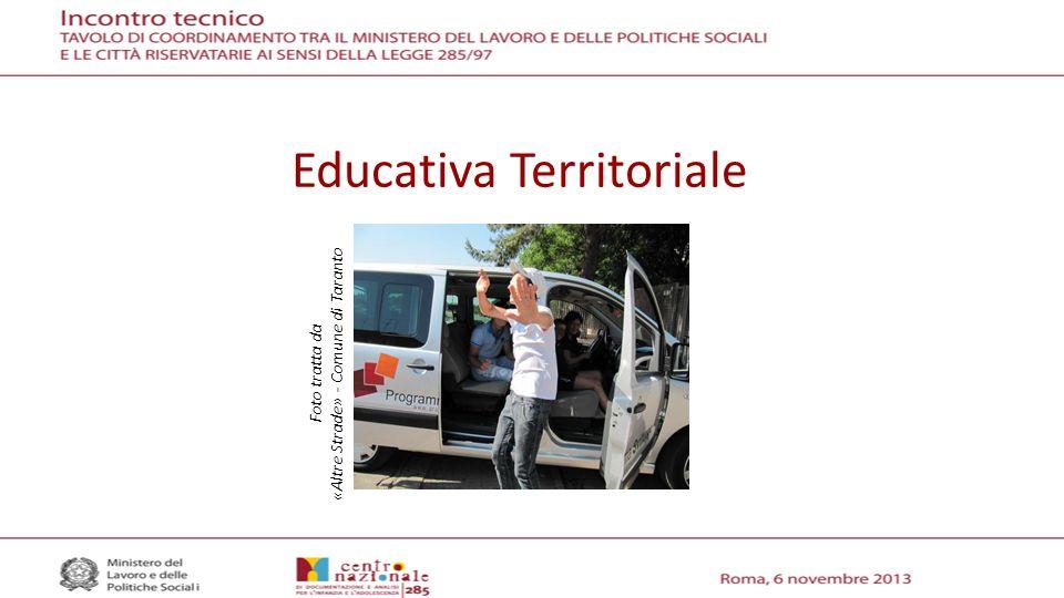 Educativa Territoriale Foto tratta da «Altre Strade» - Comune di Taranto