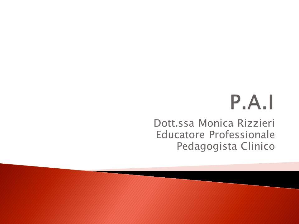 Dott.ssa Monica Rizzieri Educatore Professionale Pedagogista Clinico
