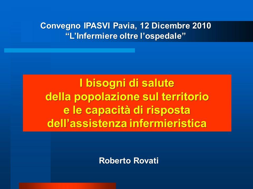 SPERIMENTAZIONE NURSING HOMES In Emilia Romagna si sono sperimentate due RSA su un modello britannico che le affida totalmente agli Infermieri.
