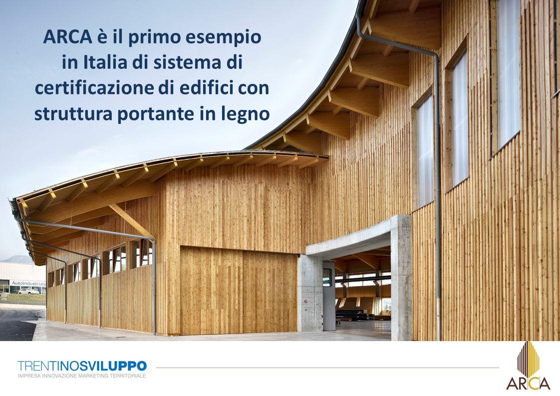 ARCA è il primo esempio in Italia di sistema di certificazione di edifici con struttura portante in legno