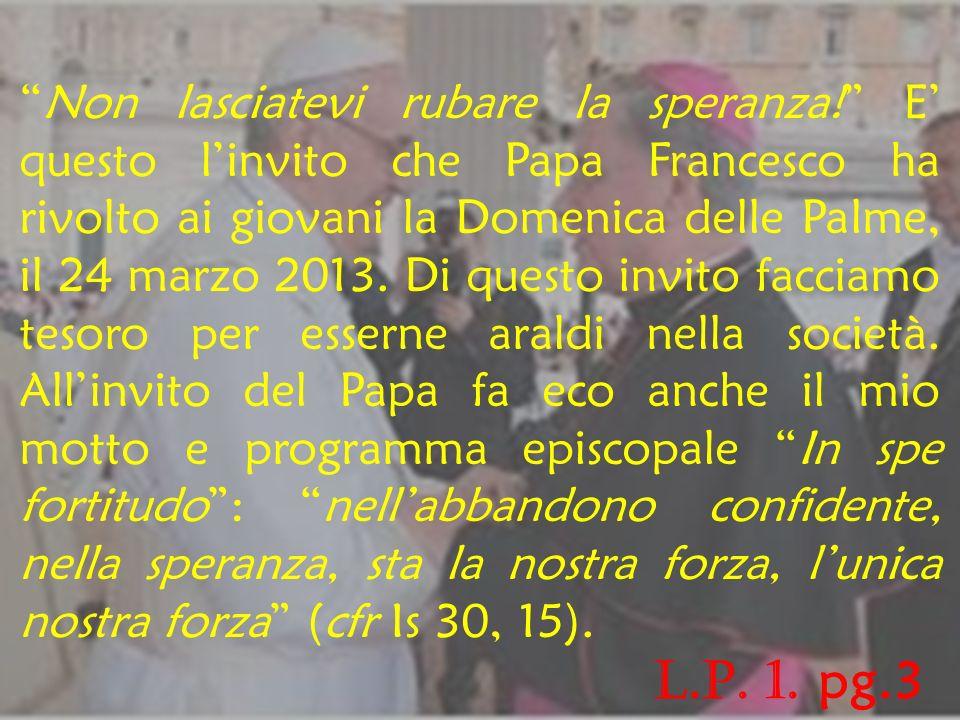 Ai presbiteri e diaconi, religiosi e religiose, ai laici tutti della Chiesa di San Miniato