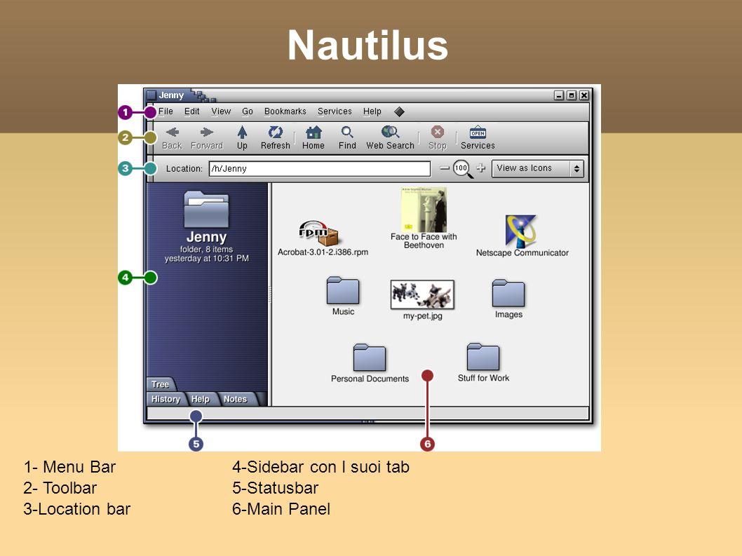 Main Menu - System Modifica della finestra di login – superuser Synaptic package manager -superuser Aggiunta di uno user