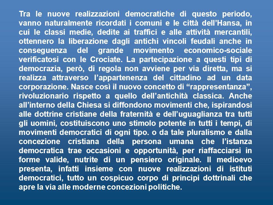 LA SOVRANITÀ POPOLARE DAL CROLLO DELLIMPERO ROMANO ALLA NASCITA DELLO STATO MODERNO Il concetto di democrazia nella storia LA SOVRANITÀ POPOLARE DAL C