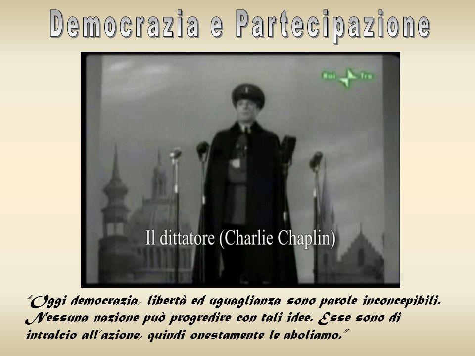LA DEMOCRAZIA NELLA SOCIETÀ CHE CAMBIA Il concetto di Democrazia nella storia LA DEMOCRAZIA NELLA SOCIETÀ CHE CAMBIA La reazione antidemocratica del f