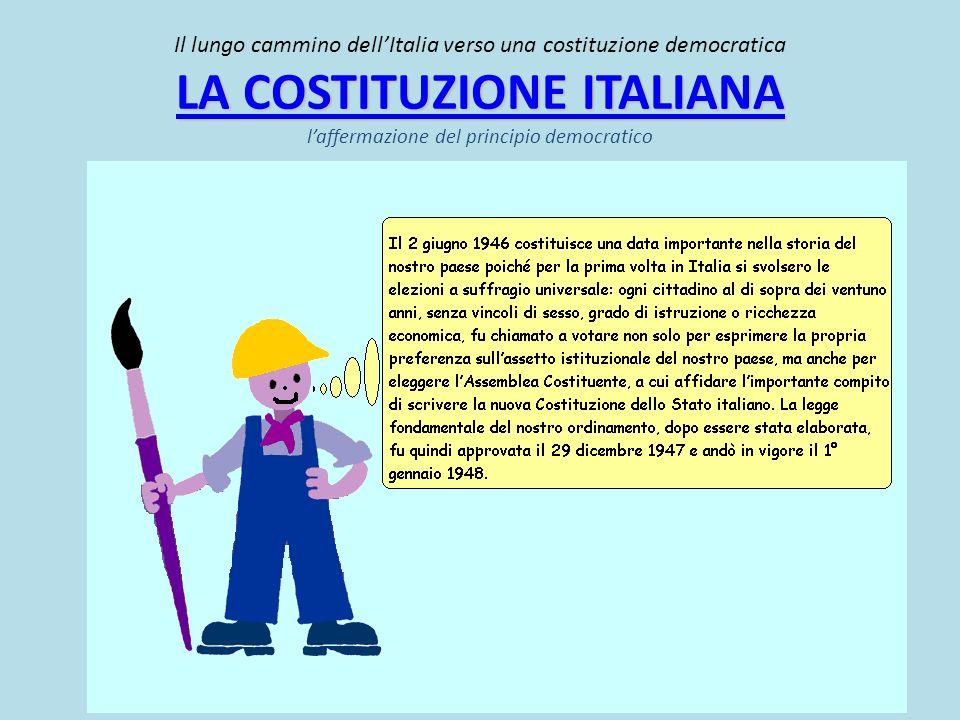 Ma allora che significato assume la democrazia nella Costituzione italiana?