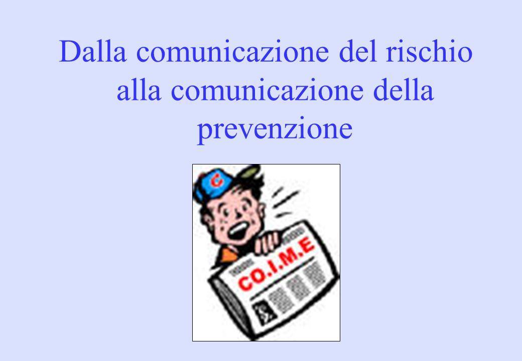 1.Informazione sui rischi: diretta, da aziende, p.a.