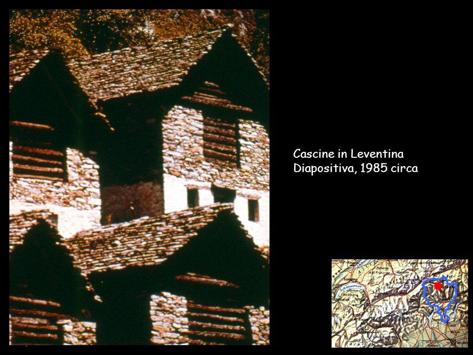 Collège Sismondi – F. Brocco / A. Cairoli - 2002 Cascine in Leventina Diapositiva, 1985 circa