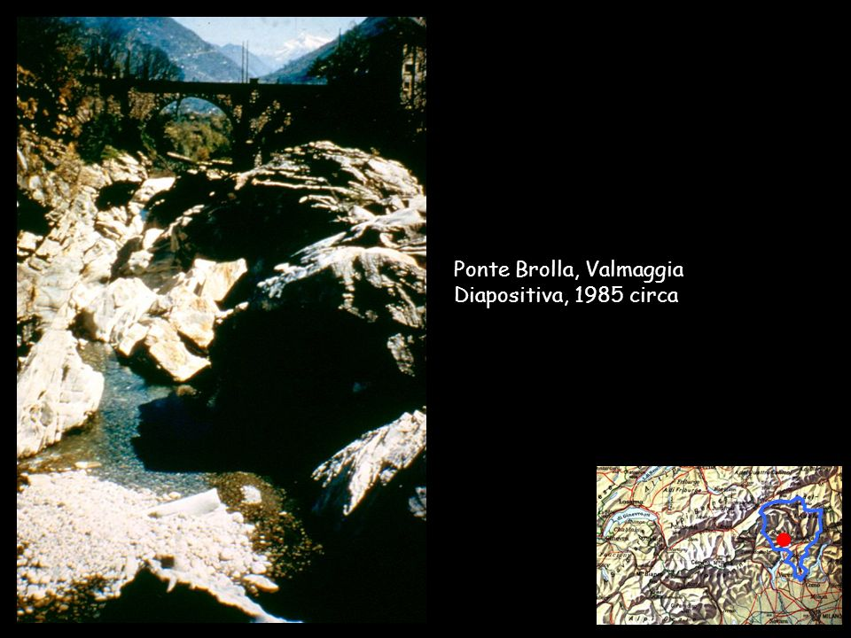 Collège Sismondi – F. Brocco / A. Cairoli - 2002 Ponte Brolla, Valmaggia Diapositiva, 1985 circa
