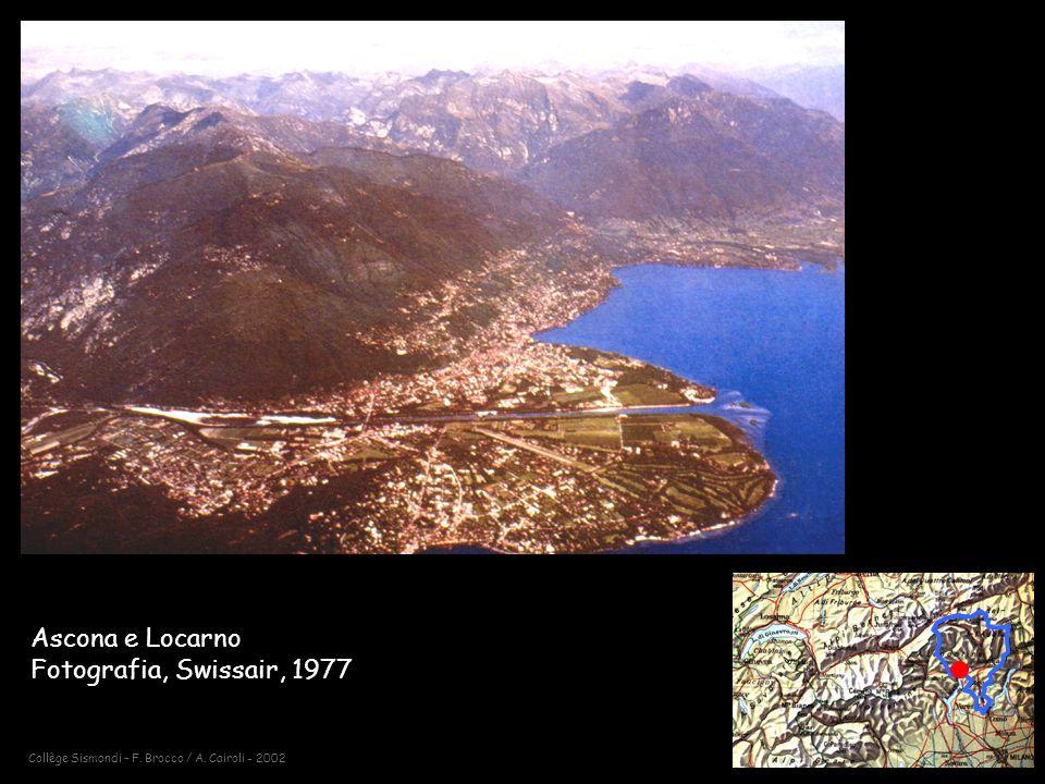 Collège Sismondi – F. Brocco / A. Cairoli - 2002 Ascona e Locarno Fotografia, Swissair, 1977