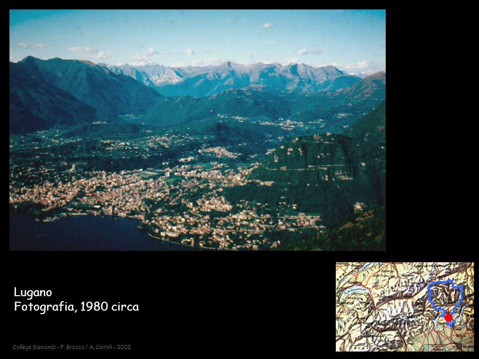 Collège Sismondi – F. Brocco / A. Cairoli - 2002 Lugano Fotografia, 1980 circa