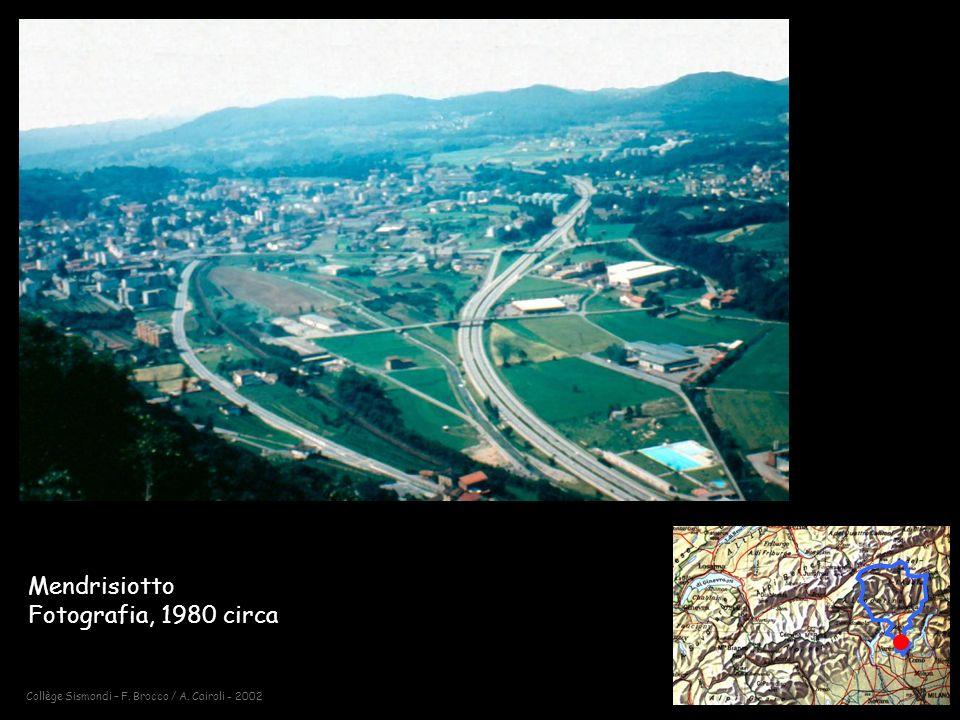 Collège Sismondi – F. Brocco / A. Cairoli - 2002 Mendrisiotto Fotografia, 1980 circa