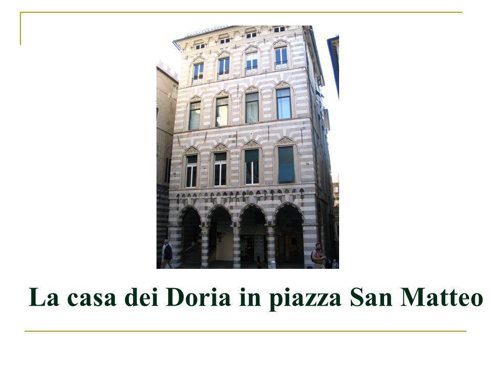 Andrea Doria I (1466-1560) Costruì una politica mercantile internazionale.