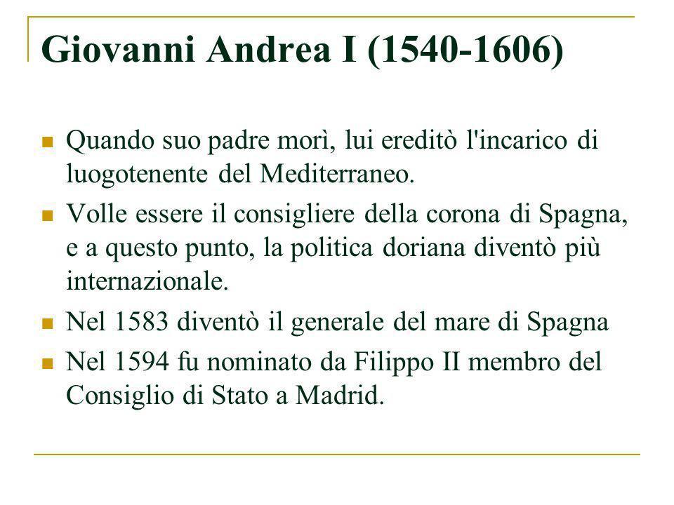Antonio (1749-1821) Giuseppe (1751-1816) I figli di Andrea IV Doria Pamphili.