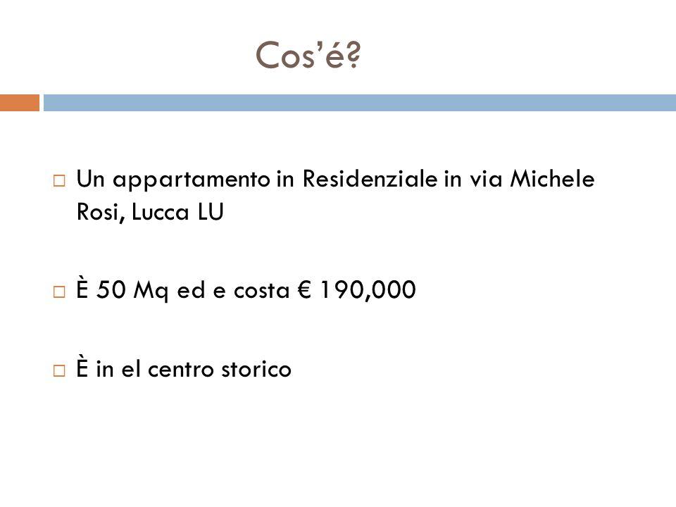 Cosé? Un appartamento in Residenziale in via Michele Rosi, Lucca LU È 50 Mq ed e costa 190,000 È in el centro storico