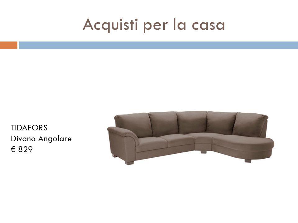 Acquisti per la casa TIDAFORS Divano Angolare 829
