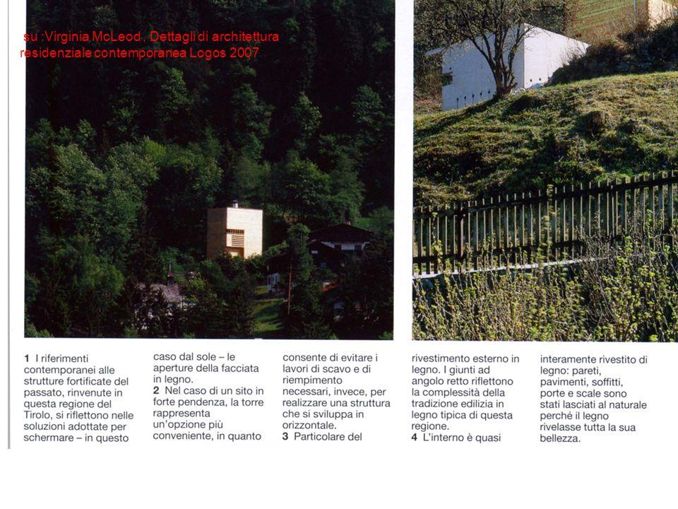 su :Virginia McLeod, Dettagli di architettura residenziale contemporanea Logos 2007