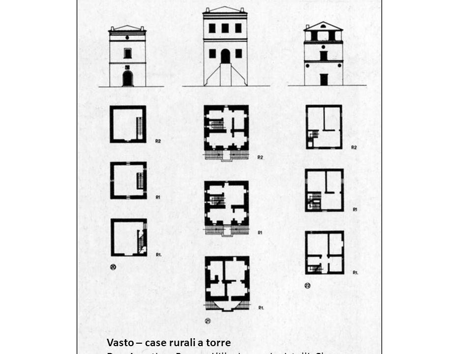Vasto – case rurali a torre Da : Agostino Renna, Lillusione e i cristalli, Clear 1980