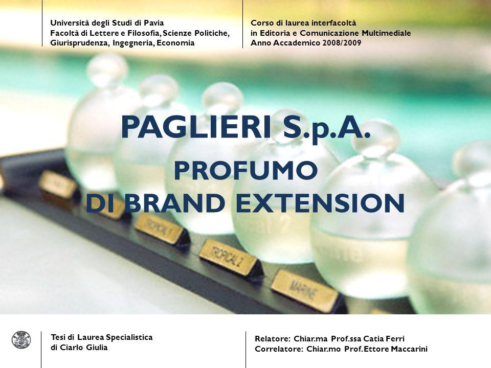 Tesi di Laurea Specialistica di Ciarlo Giulia Relatore: Chiar.ma Prof.ssa Catia Ferri Correlatore: Chiar.mo Prof.