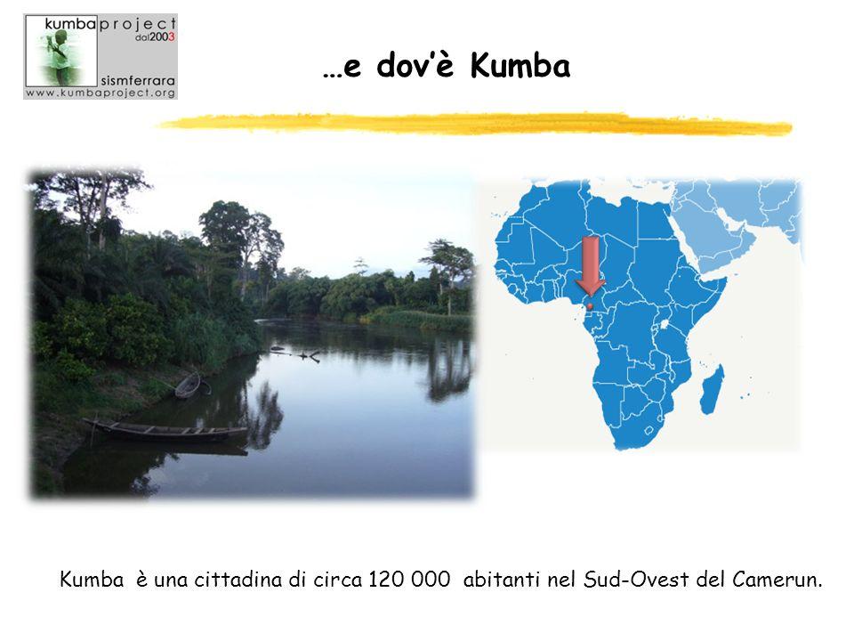 …e dovè Kumba Kumba è una cittadina di circa 120 000 abitanti nel Sud-Ovest del Camerun.