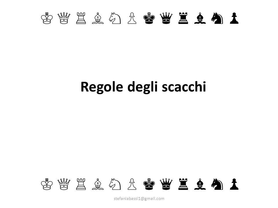 Regole degli scacchi stefaniabassi1@gmail.com