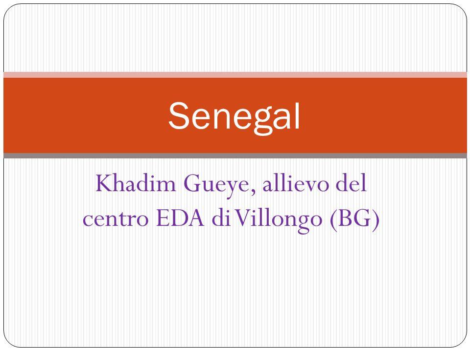 Khadim Gueye, allievo del centro EDA di Villongo (BG) Senegal