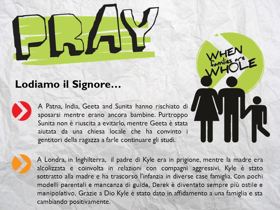 [Compila questa slide se desideri includere alcune richieste di preghiera del tuo gruppo di preghiera, famiglia o chiesa] Richiesta di preghiera #1 Richiesta di preghiera #2