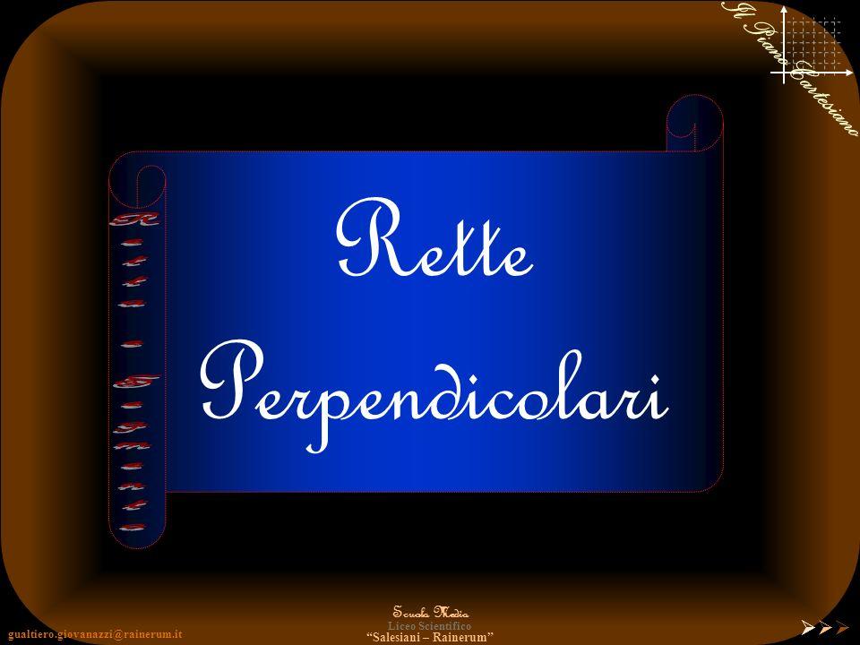 gualtiero.giovanazzi@rainerum.it Scuola Media Liceo Scientifico Salesiani – Rainerum Il Piano Cartesiano Notazione Punto: lettere MAIUSCOLE dellalfabe