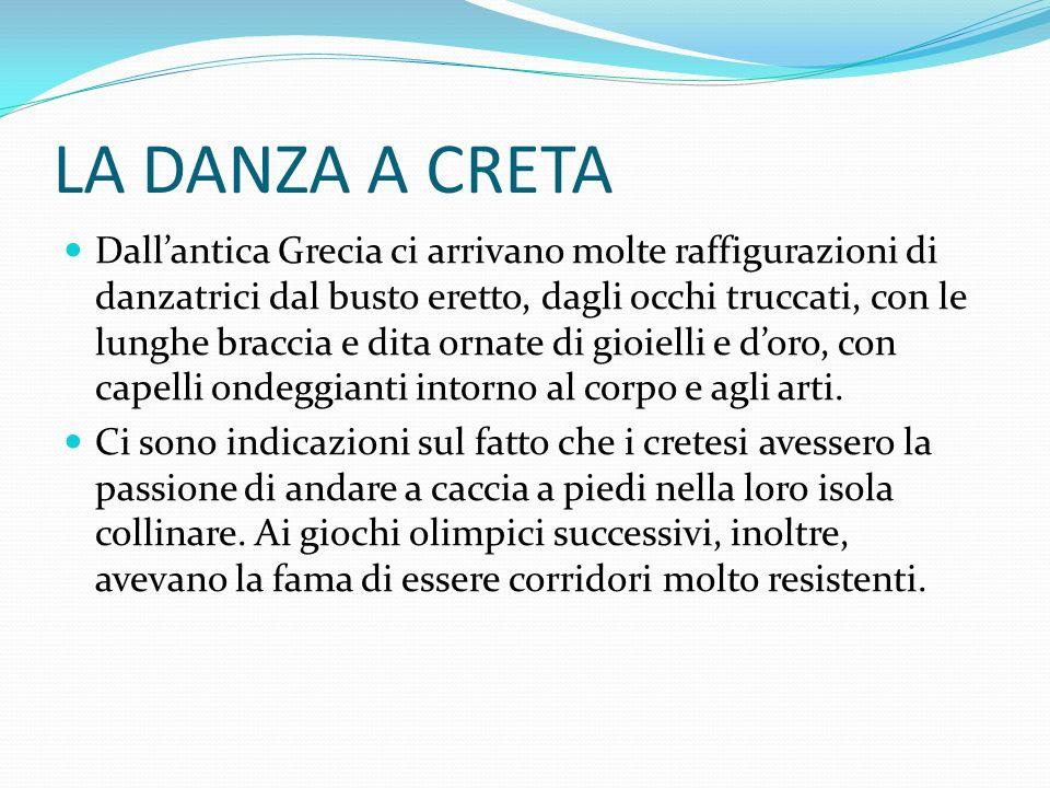 POEMI OMERICI E CRETA Vi è un passaggio dellOdissea in cui è descritta la partecipazione delleroe Odisseo ai giochi successivi al pranzo dei Feaci.