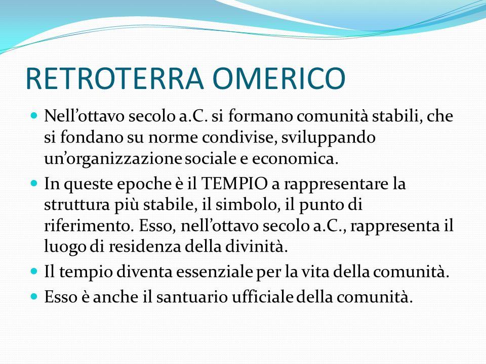 OLIMPIA Il decollo del santuario di Olimpia, attivo dallXI secolo, si deve probabilmente allistituzione dei giochi olimpici, che la tradizione vuole fondati dal 776 a.C.