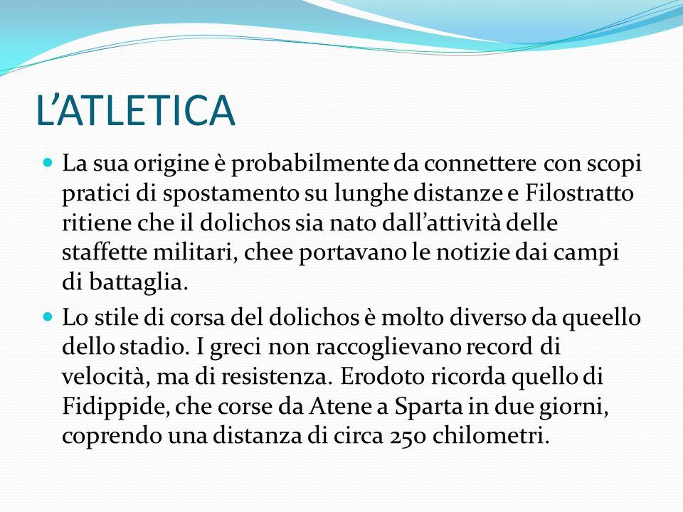 LATLETICA LOPLITODROMIA.