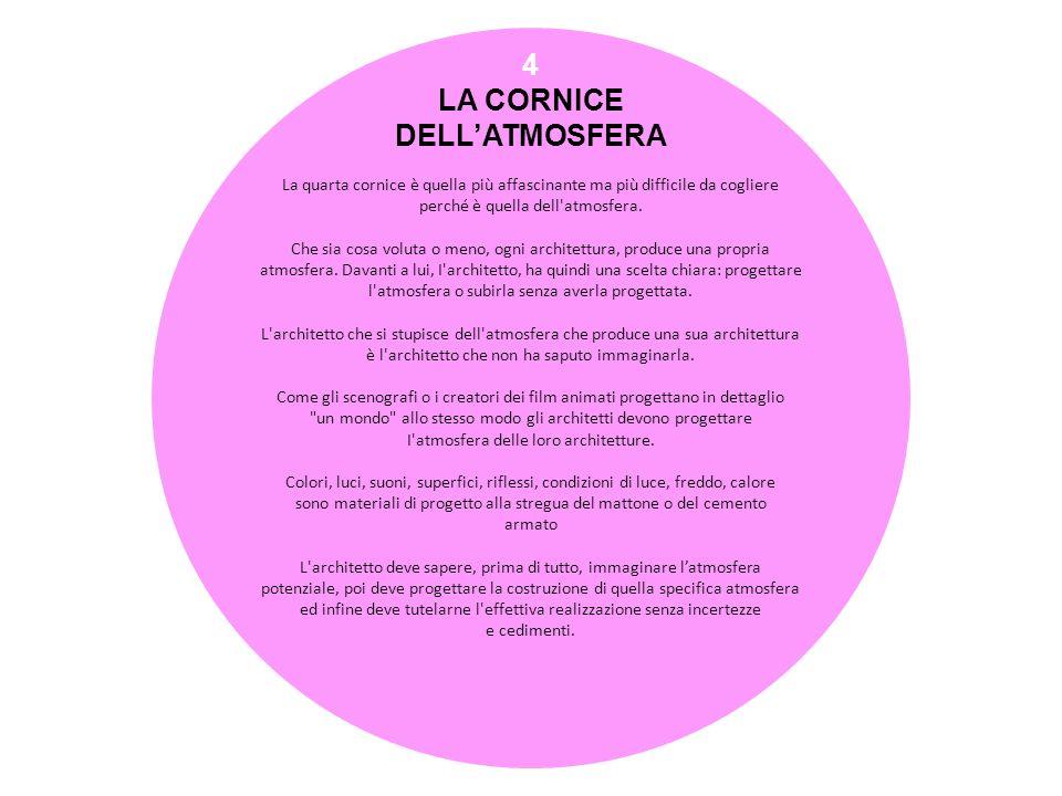 5 LA CORNICE DELLA COMPOSIZIONE La quinta cornice è quella della composizione.