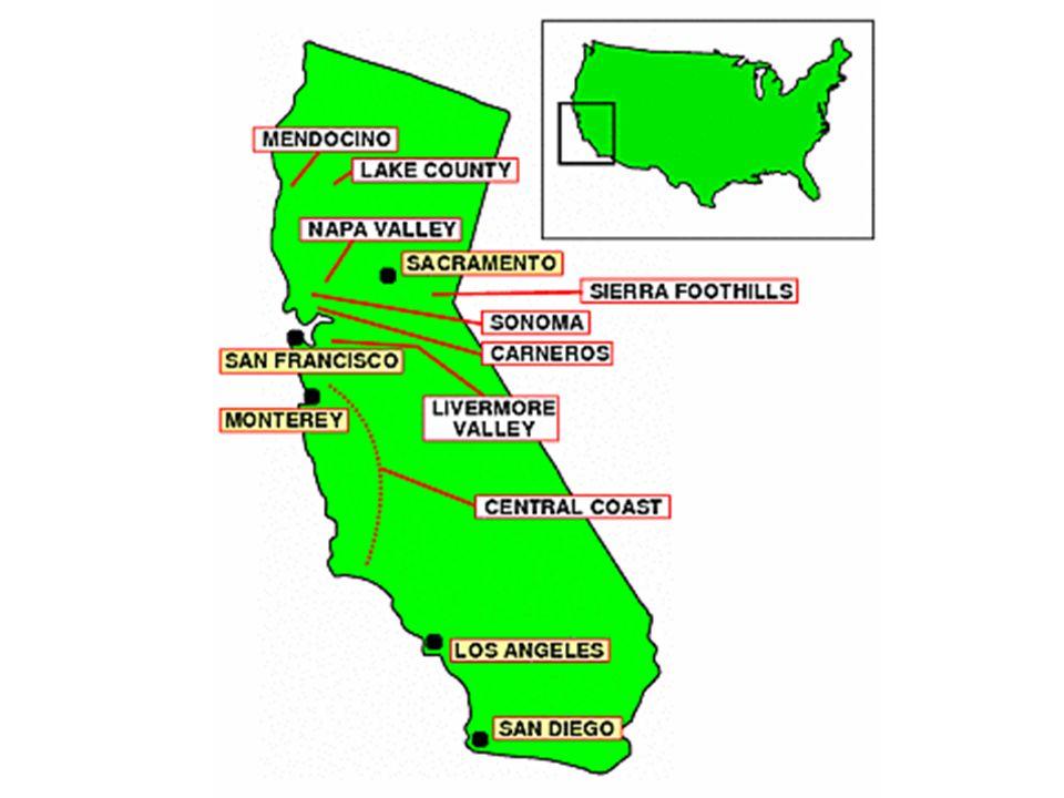 Capitale: Sacramento Superfice: 410.000 Km² Densità abitativa: 87,55 ab./Km² La California è uno stato degli Stati Uniti dAmerica.
