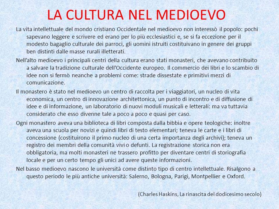RINASCIMENTO GIURIDICO Linflusso che Roma esercitò sulla cultura non fu limitato al linguaggio e alla letteratura perché essi erano stati essenzialmente un popolo di governanti e giuristi prima di un popolo di letterati.