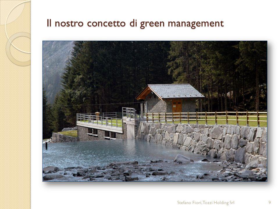 Il nostro concetto di green management Stefano Fiori, Tozzi Holding Srl9