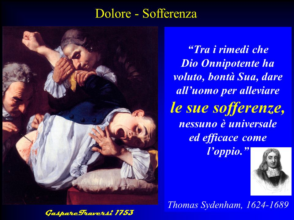 Il risveglio americano dalloppiofobia Opioid maintenance therapy can be a safe salutary and more humane alternative…..in those patients with intractable non-malignant pain and non history of drug abuse